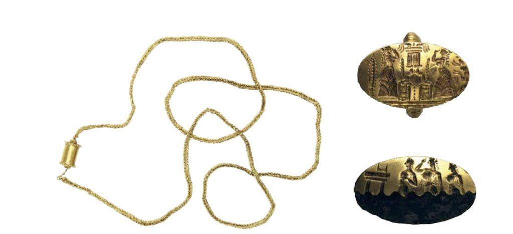 Mycenaean jewellery